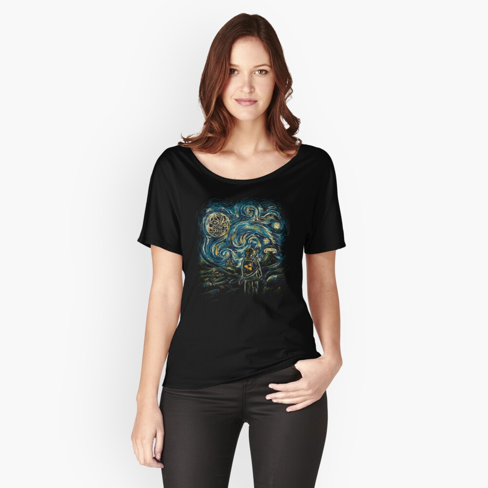 Hylian Night Women's Relaxed Fit T-Shirt Front