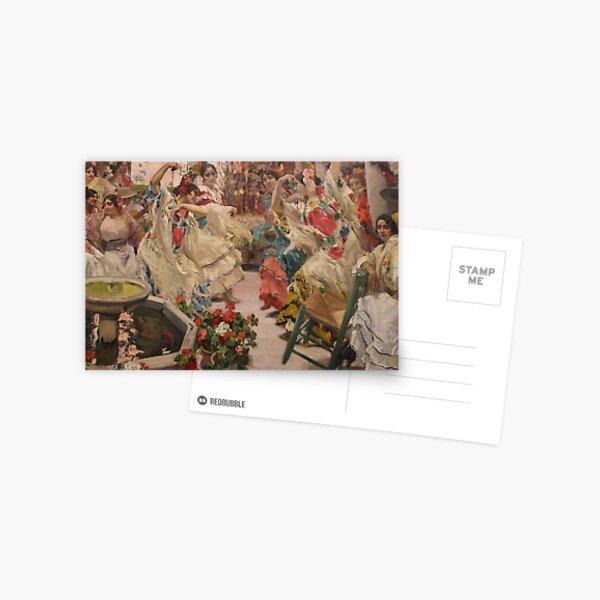 Hispanic Society - Sorolla Murals Postcard