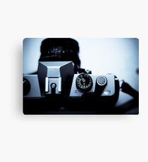 Analogue exposure dial Canvas Print