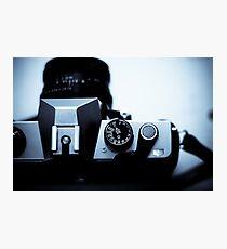 Analogue exposure dial Photographic Print