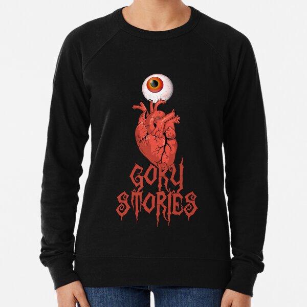 I LOVE GORY STORIES (alternative design) Lightweight Sweatshirt