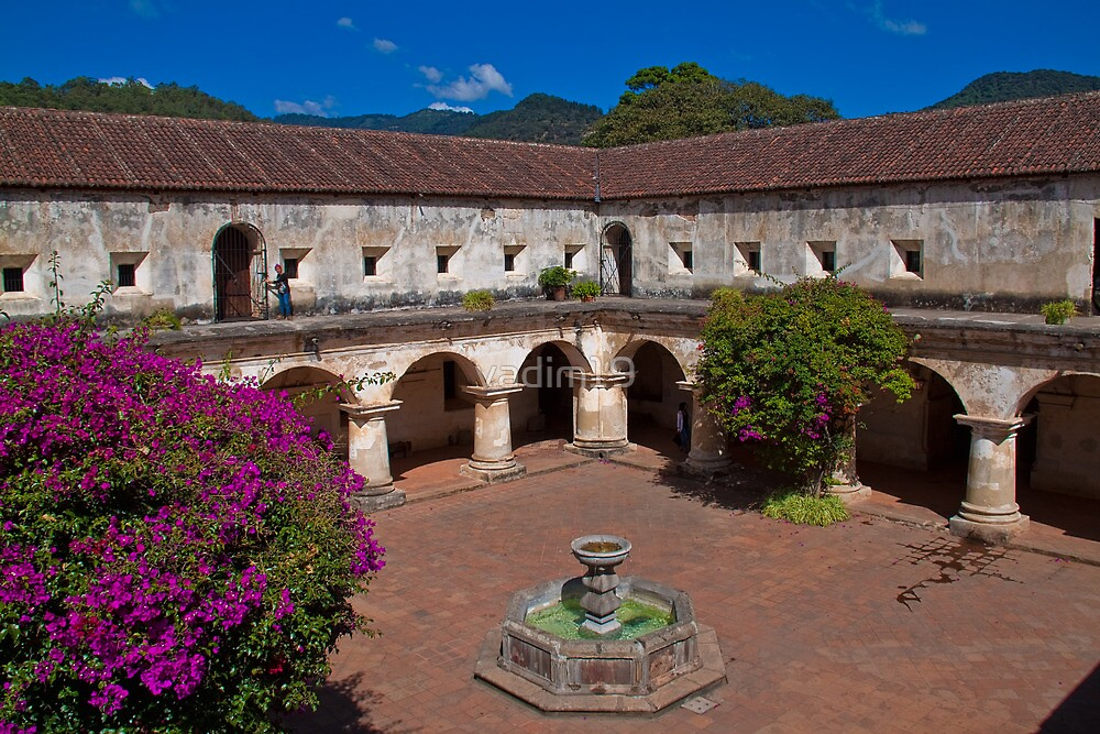 Guatemala. Antigua. Convent of Capuchinas. by vadim19