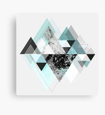 Graphic 110 (Turquoise Version) Canvas Print