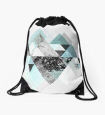 Graphic 110 (Turquoise Version) Drawstring Bag