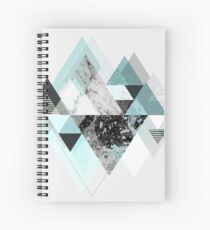 Graphic 110 (Turquoise Version) Spiral Notebook