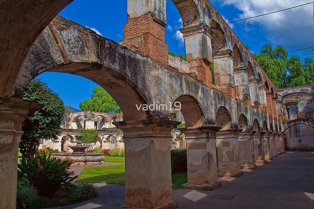Guatemala. Antigua. Santa Clara Convent. by vadim19