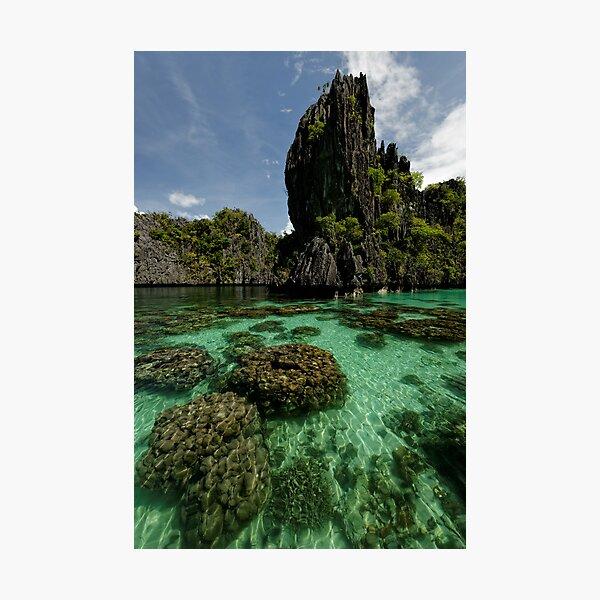 Miniloc Lagoons  Photographic Print