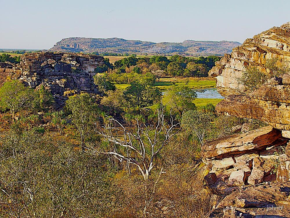 Ubirr Rock, Arnhem Land, Northern Territory, Australia. by johnrf
