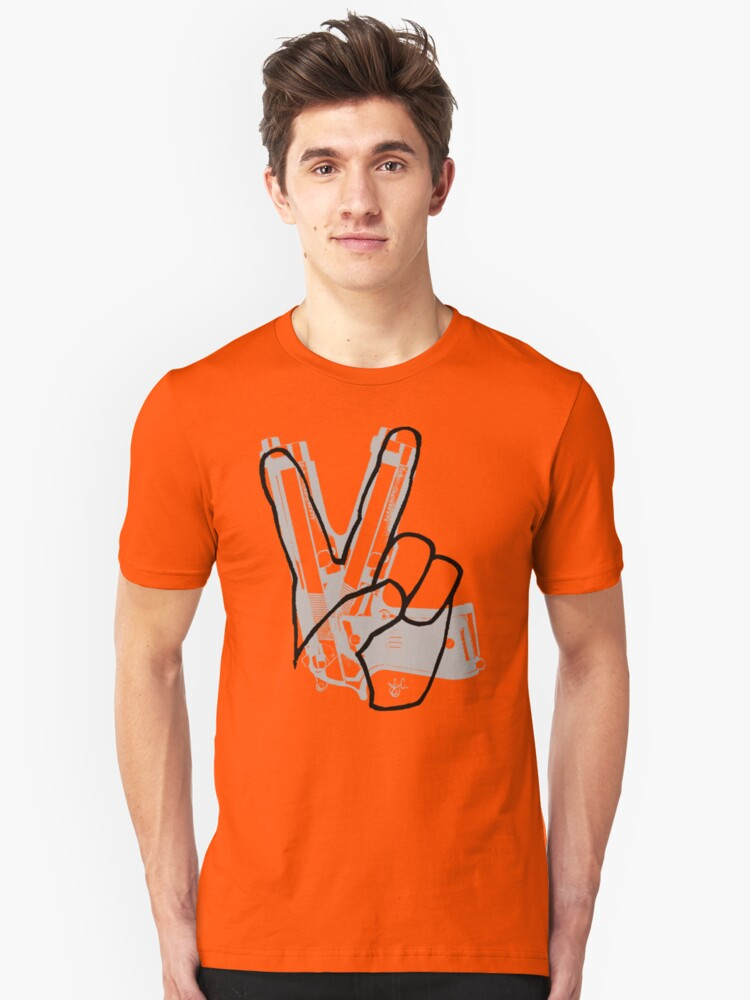 Peace Toll Unisex T-Shirt Front