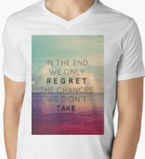In the end Men's V-Neck T-Shirt