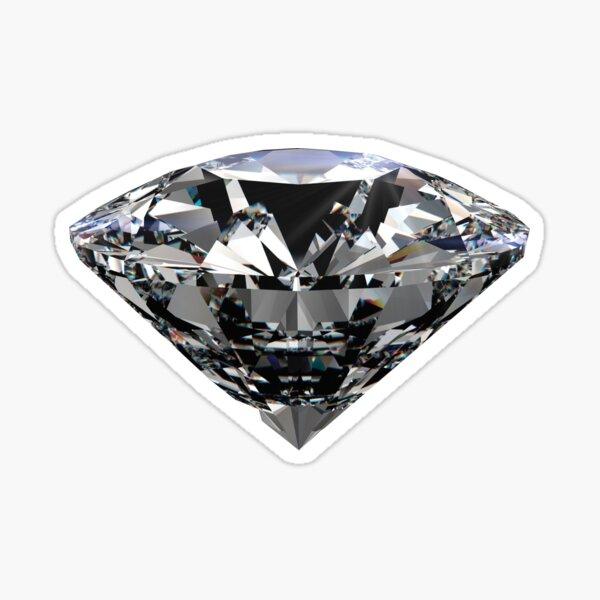 Real Diamond Gem Sticker