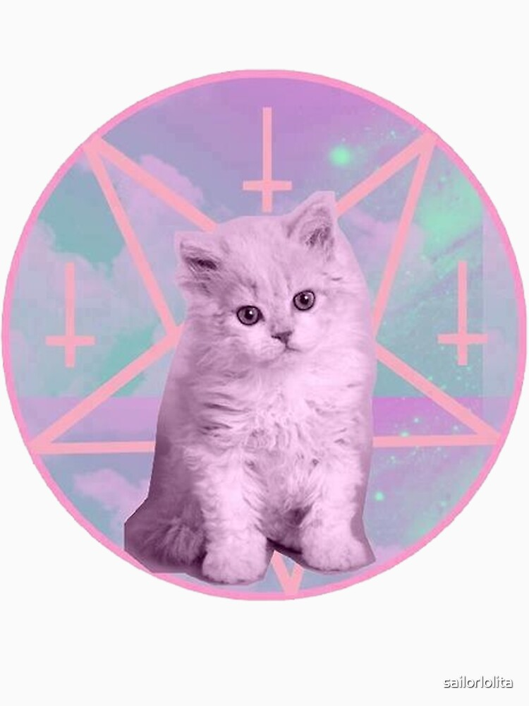 Pentagram Kitty | Unisex T-Shirt