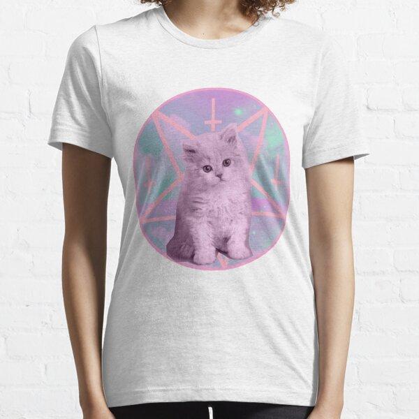 Pentagram Kitty Essential T-Shirt