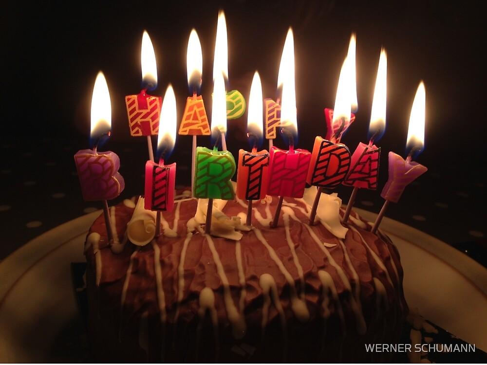 Happy Birthday by WERNER SCHUMANN