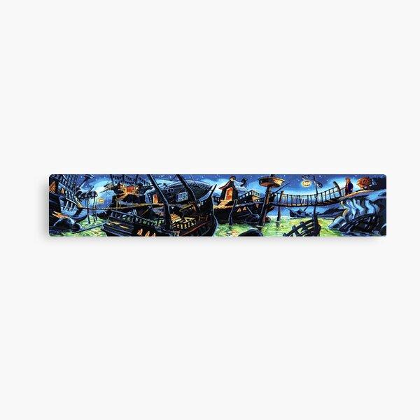 Scabb Island Panorama (Monkey Island 2)  Canvas Print