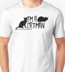I'm A Catman - Black Shirt Unisex T-Shirt