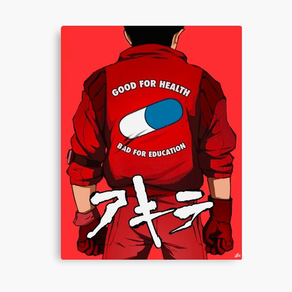 Kaneda Shotaro, Akira, anime, manga Canvas Print