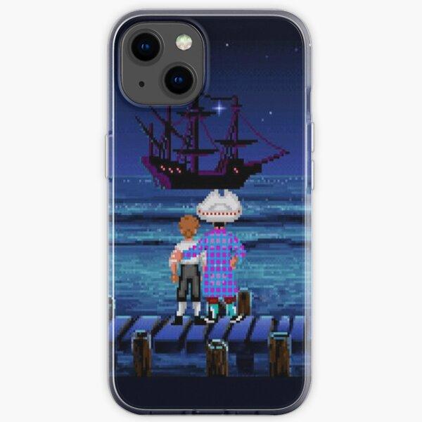 Guybrush & Stan (Monkey Island) iPhone Soft Case