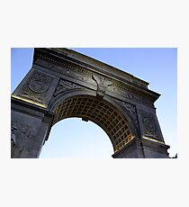 Arch in Washington Square Park Photographic Print