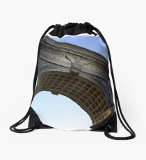 Arch in Washington Square Park Drawstring Bag