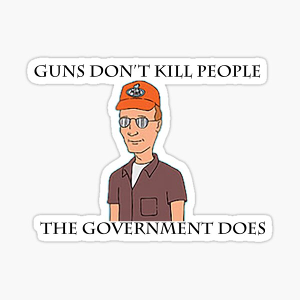 The Government Does Sticker