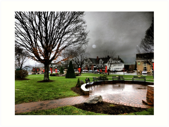 Holiday Cheer on the Square in Burnsville, NC, Complete with Orb by Marielle Valenzuela