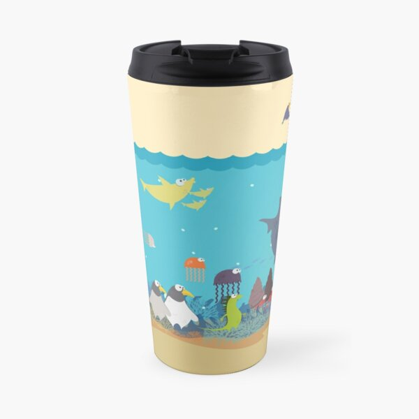 What's going on at the sea? Kids collection Travel Mug