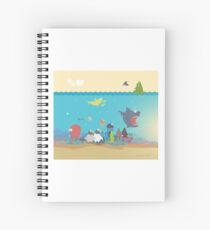What's going on at the sea? Kids collection Spiral Notebook