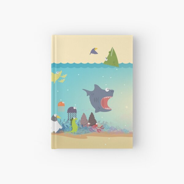 What's going on at the sea? Kids collection Hardcover Journal