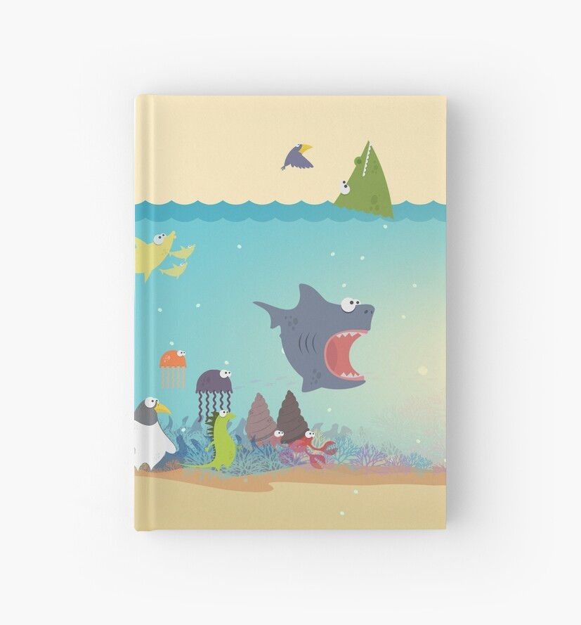 What's going on at the sea? Kids collection by bicastudio