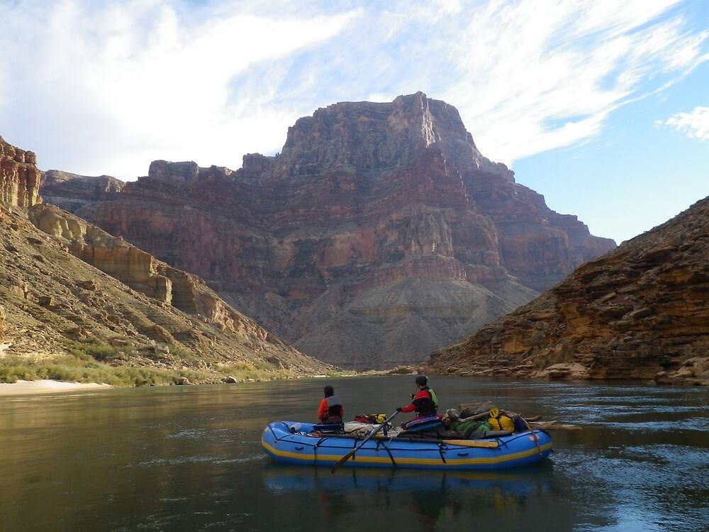 Grand Canyon Rafts by dinahmite