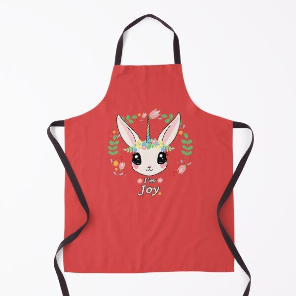 I'm Joy the Unicorn Bunny Apron