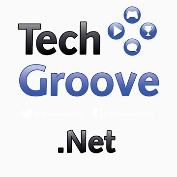 TechGroove Logo Split — Promo Shirt Dark by bwhite94