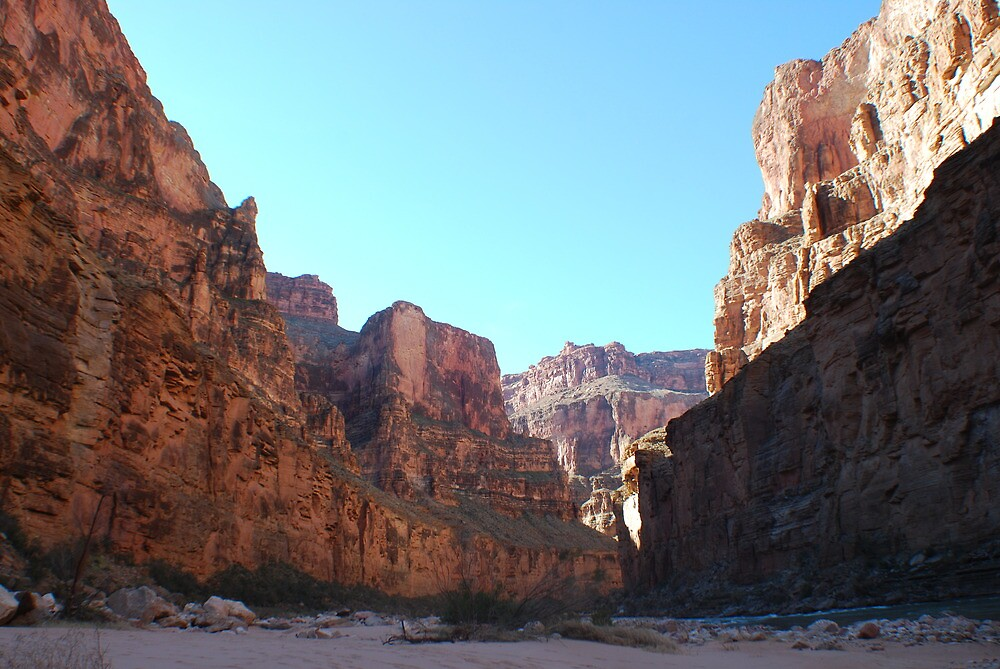 Grand Canyon Scenery by dinahmite