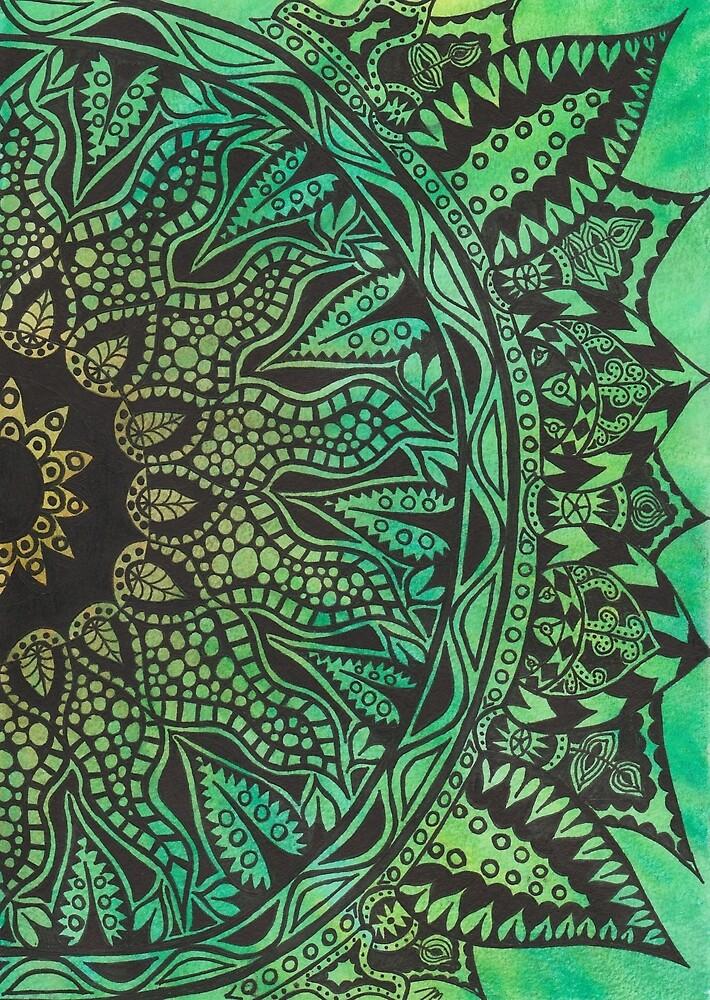 Sun Leaf by MissTariana