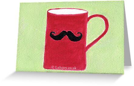 Moustacho Card by lulujoy
