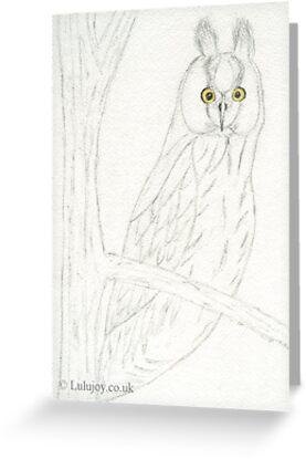 Owl Watching You by lulujoy