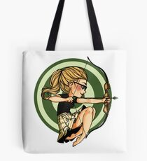 Felicity, where's my bow? Tote Bag