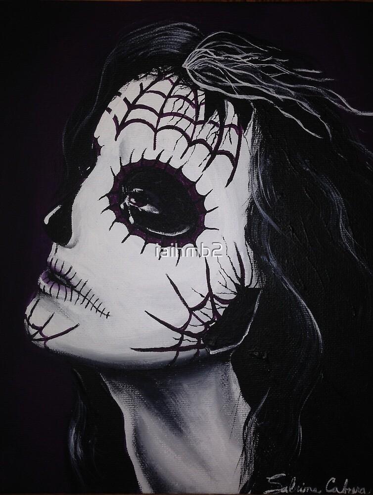 Broken Hearted Sugar Skull by iaihmb2