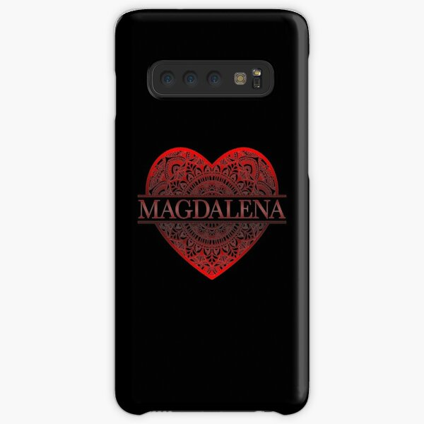 Heart Mandala Magdalena Name - Gift For Magdalena Samsung Galaxy Snap Case