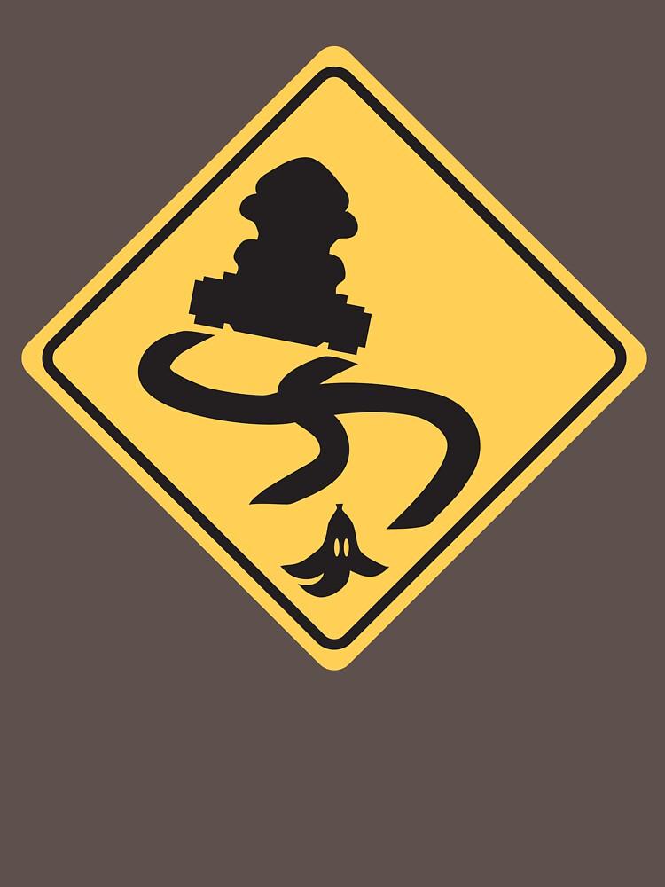 Slippery Road - Mario Kart by bernaloyola