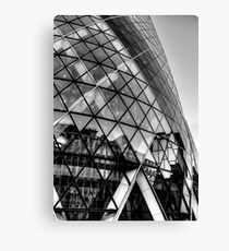 The Gherkin, London Canvas Print