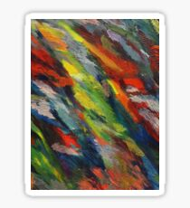 Color Abstract Sticker
