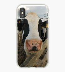 Moo cow iPhone Case