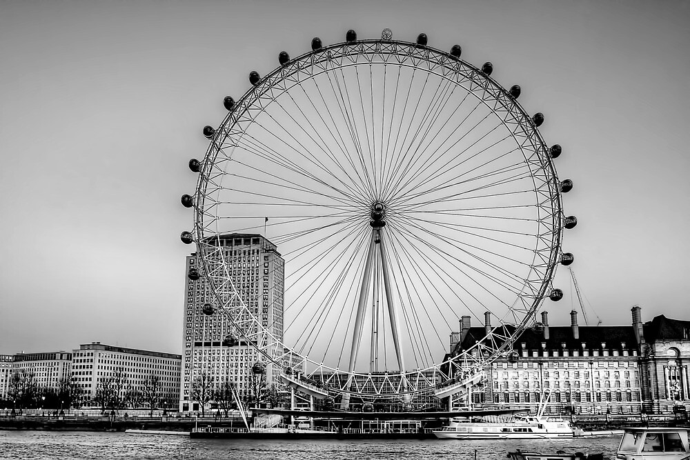 London Eye, London by Stephen Smith