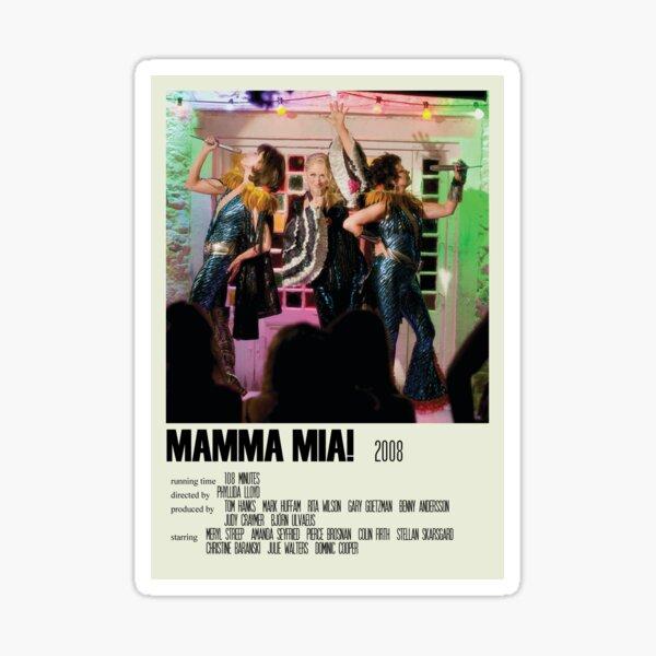 Mamma Mia! Alternative Poster Art Movie Large (4) Sticker