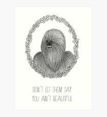Don´t let them say Art Print
