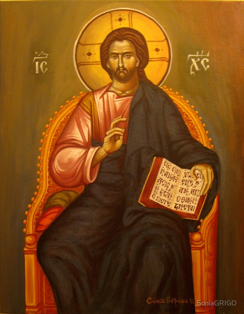 Jesus Christ by SoniaGRIGO