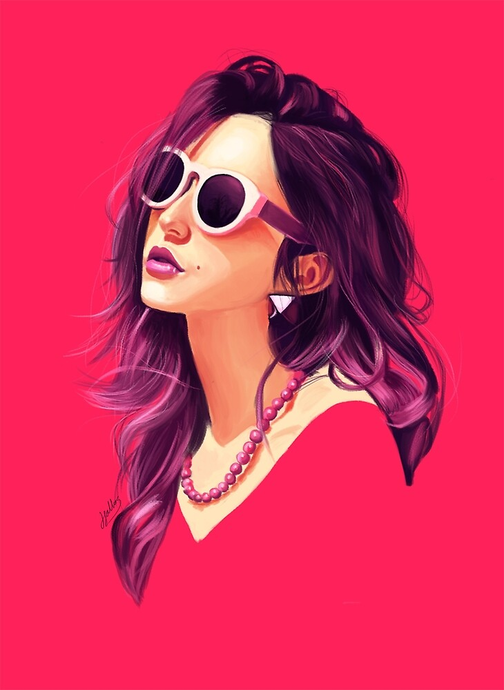 Pink Summer by Jordan Fallas