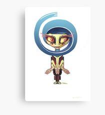 Your Cute Little Domestic Robot Canvas Print